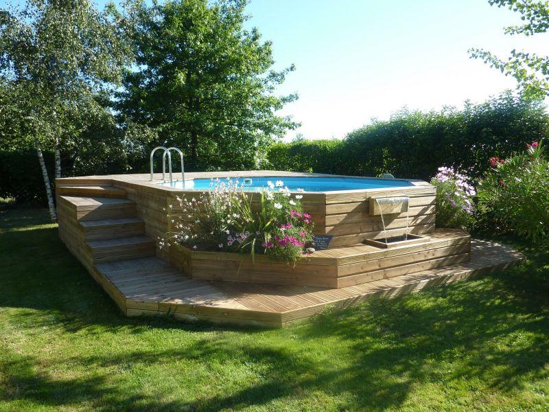 Construction de piscines paysagère bois à Arcachon - Travaux ...