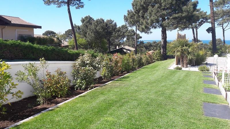 Création d\'un jardin contemporain et minéral au Pyla sur mer ...