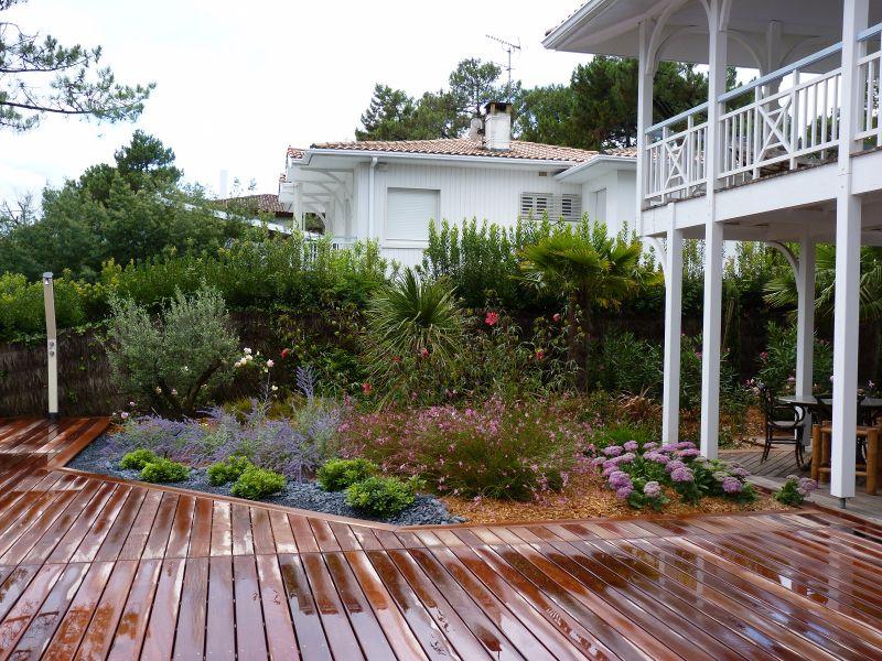 Super Création d'un jardin paysagé d'exeption au Cap Ferret en Gironde  LE91