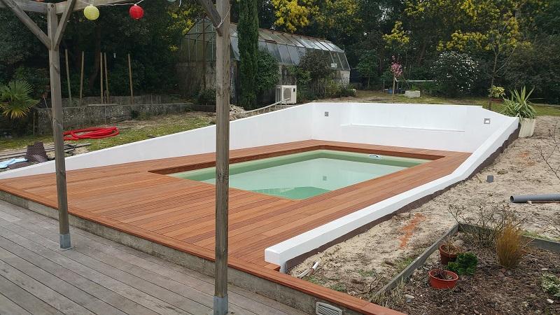 Aménagement bois pour jardin et terrasse bois sur le Bassin ...